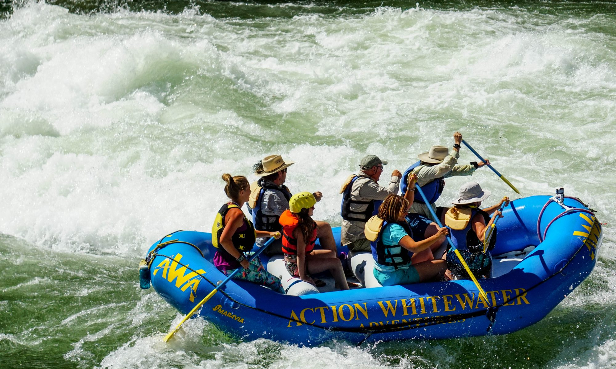 Action Whitewater Adventures 1-800-453-1482